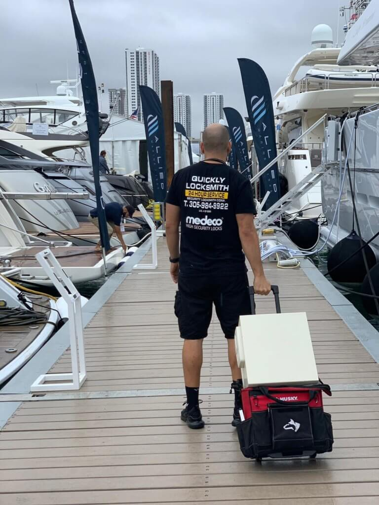 Locksmith in Miami FL for Boats and yachts