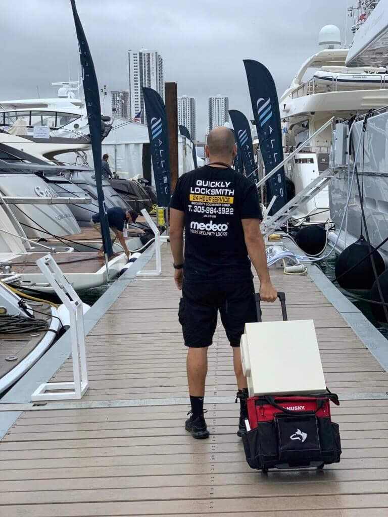Locksmith Miami for Boats and yachts
