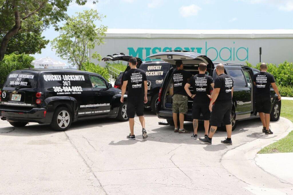 Quickly locksmith team in Miami FL