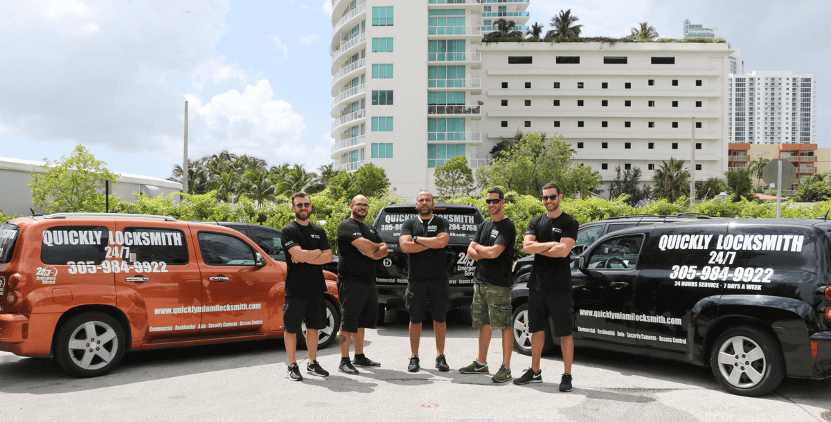Team Members - Quickly Locksmith Miami