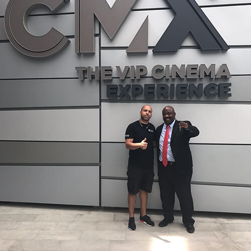 After Finishing An Amazing Commercial Locksmith Services Project, With The Property Manager At CMX Miami