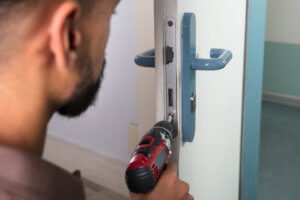Emergency Locksmith Services To our Client Residence Entrance Door In Miami FL