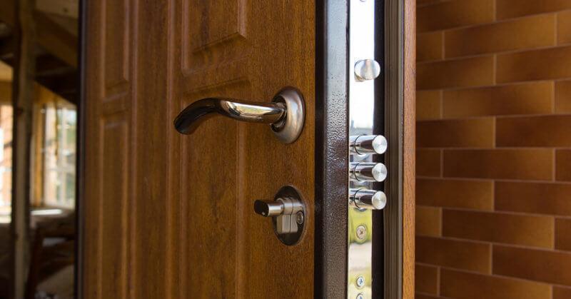 New steel three bolt door lock - Quickly locksmith