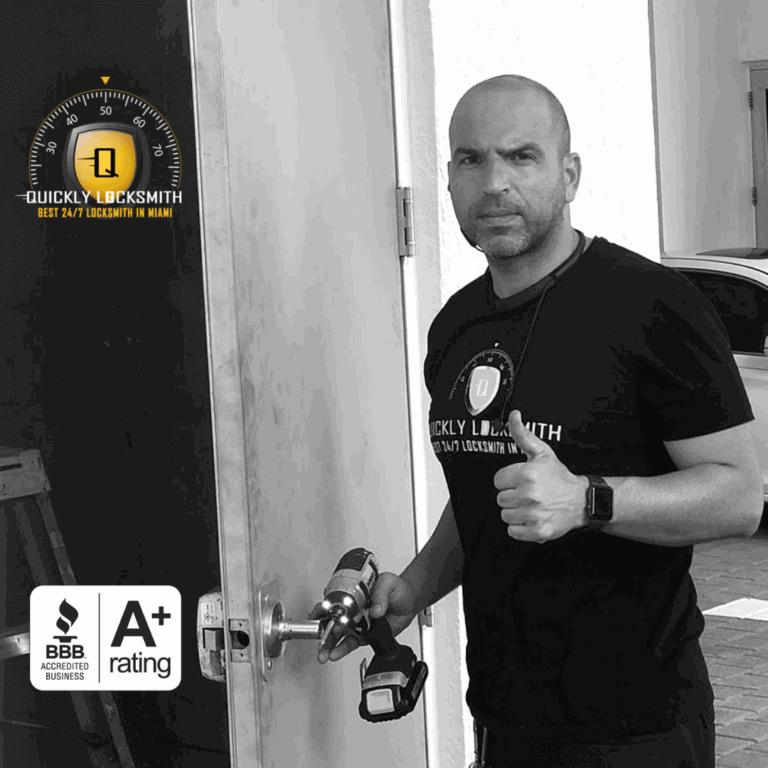 David Davidof - Certified Locksmith Installer in Miami FL