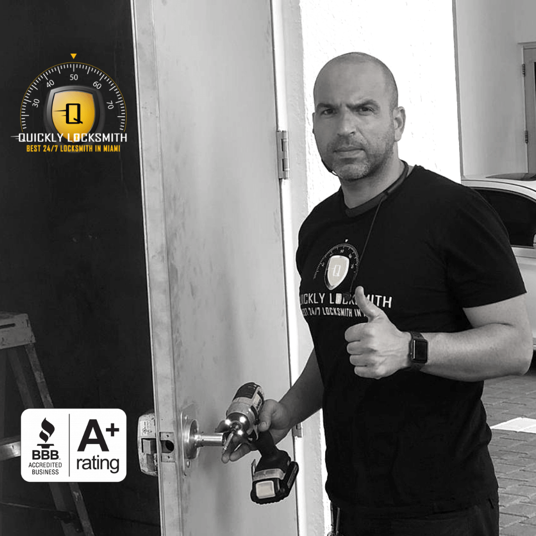 Quickly Locksmith Miami owner & founder