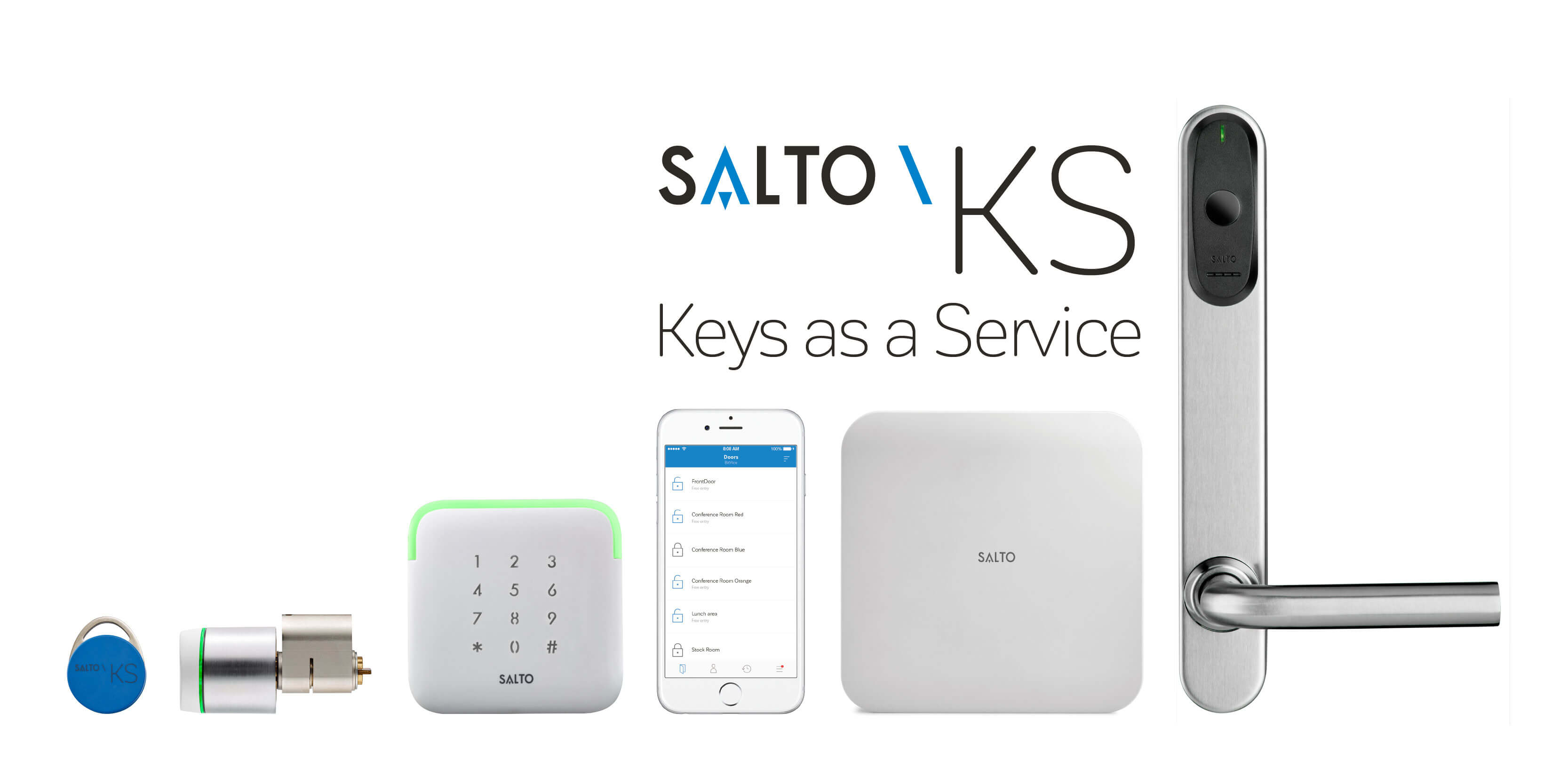 Salto Access Control Systems In Miami FL - keys as a service